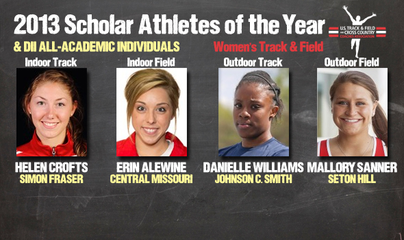 DII Women's Track & Field Scholar Athletes of the Year, All-Academic Individuals Announced