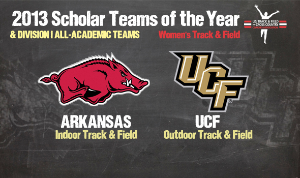 Arkansas, UCF Women Earn Scholar Team of the Year Honors Among All-Academic Teams