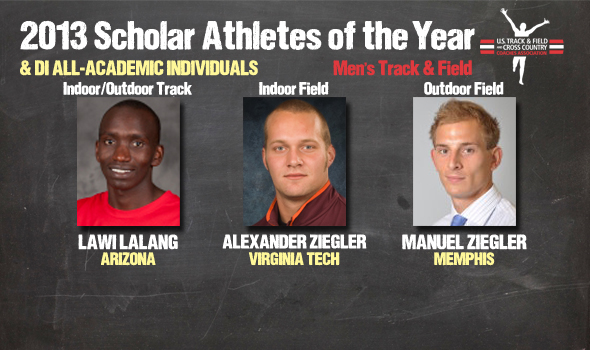 DI Men's Track & Field Scholar Athlete of the Year, All-Academic Individual Awards Announced