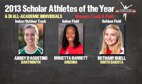 DI Women's Track & Field Scholar Athlete of the Year, All-Academic Individual Awards Announced