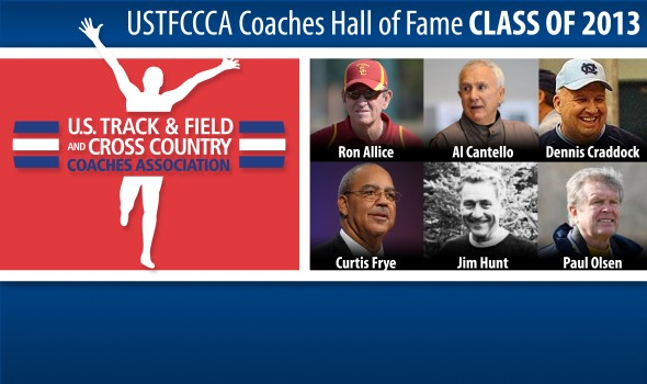 USTFCCCA Coaches Hall of Fame Class of 2013 Announced