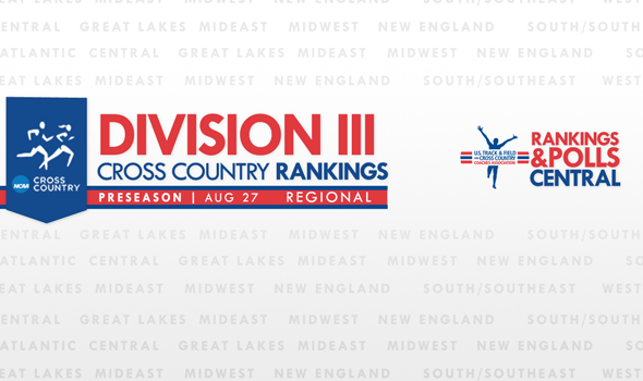 Preseason Regional Rankings for Division III Cross Country Announced