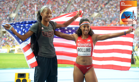 Rollins & Barrett Earn Gold & Silver to Lead 2013 Collegians at IAAF World Championships