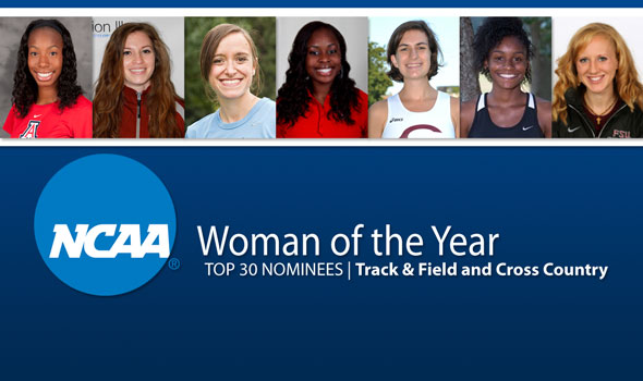 NCAA Woman of the Year Top 30 Nominees – Track & Field and Cross Country