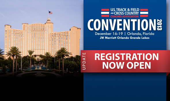 2013 USTFCCCA Convention Registration is Now Open