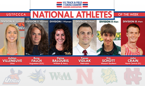 USTFCCCA Announces Week Two National Athletes of the Week