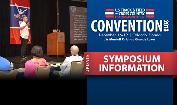 2013 USTFCCCA Convention Highlight: Symposiums