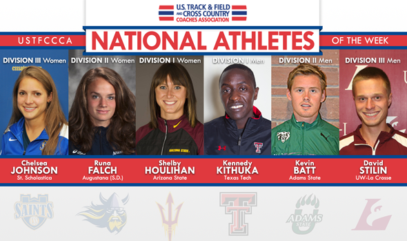 First Big XC Weekend Produces Big National Athlete of the Week Performances