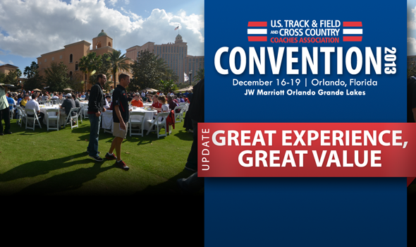 2013 USTFCCCA Convention: A Great Experience for a Great Value
