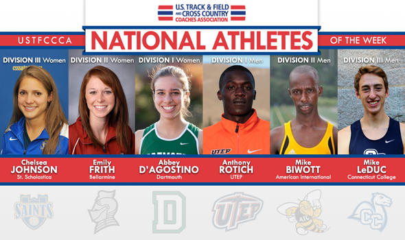 Adverse Weather Couldn't Stop National Athletes of the Week