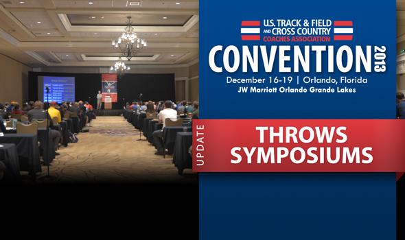USTFCCCA Convention: Throws Symposiums