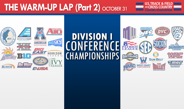 The Warm-Up Lap (Part 2): Division I Conference Championships Preview