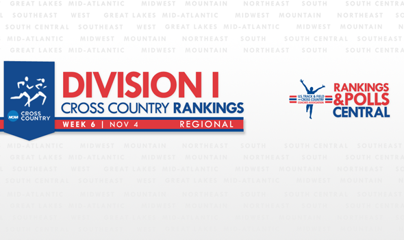 Indiana Men Take Over the Great Lakes Region in Division I Regional Rankings