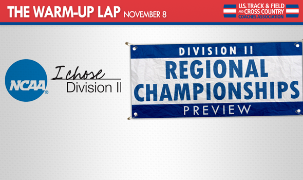 The Warm-Up Lap: Bids to Division II Nationals on the Line This Weekend