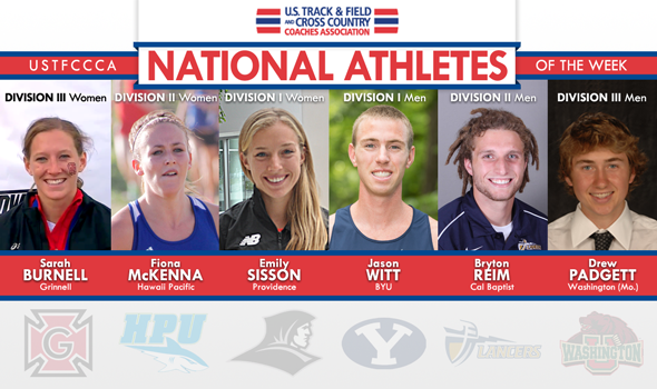National Athletes of the Week Rise to the Occasion at Conference Championships