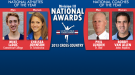 LeDuc, Johnson, Lundin & Van Allen Earn National Awards for Division III Cross Country