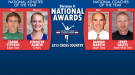 Stevens, Agnew, Martin & Baltes Named Division II XC National Award Winners
