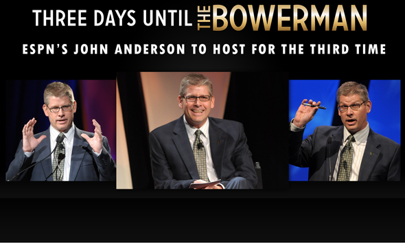 Three Days Until the Bowerman 2013, Hosted for the Third Time by ESPN's John Anderson