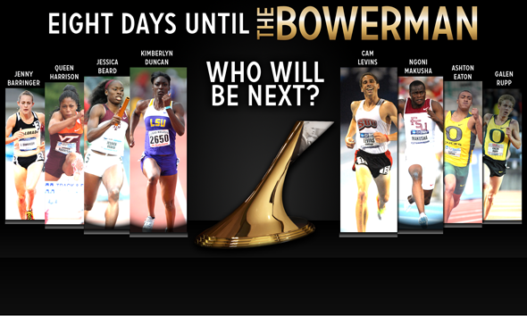 8 Days to Go: Who Will Join the Eight Former The Bowerman Winners?