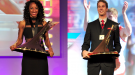 Brianna Rollins & Derek Drouin are Winners of the 2013 The Bowerman Trophy