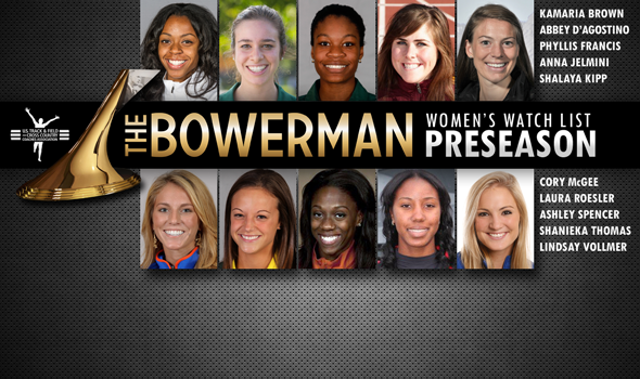 Preseason Women's Watch List for The Bowerman Unveiled