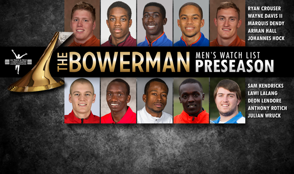 Men's 2014 Preseason Watch List for The Bowerman Announced