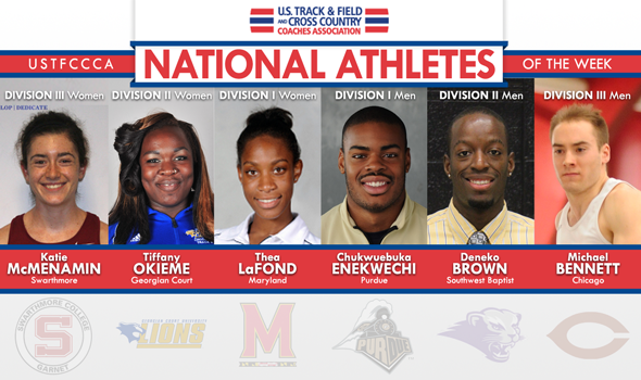 First National Athletes of the Week for 2014 Announced