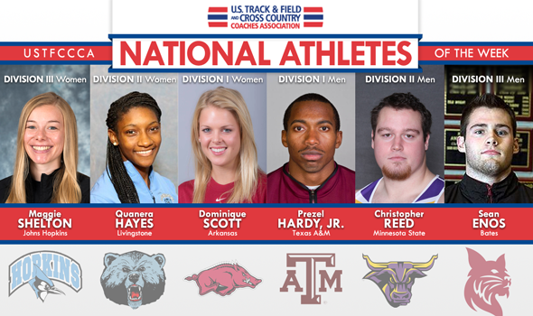 National Athletes of the Week in Championship Form Early in 2014