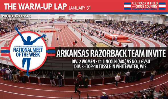 The Warm-Up Lap: What to Watch in College T&F This Weekend