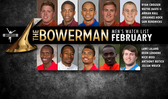 The Bowerman Men's Watch List for February Adds Arizona's Nick Ross