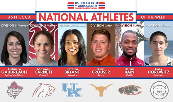 Historic Performances Turned in by National Athletes of the Week