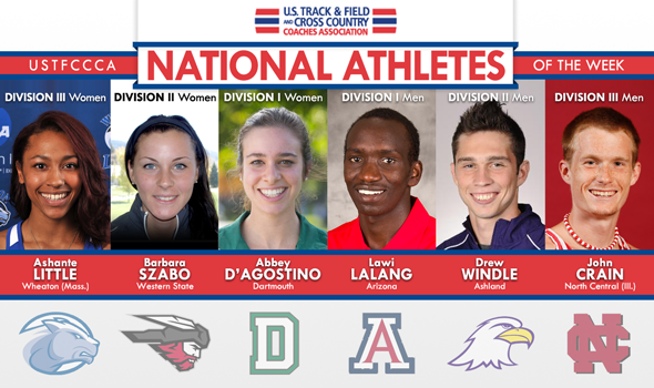 Lalang's Collegiate Mile Record Headlines National Athletes of the Week