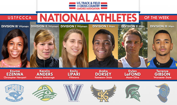 Exceptional Conference Championships Performers Earn National Athlete of the Week Honors