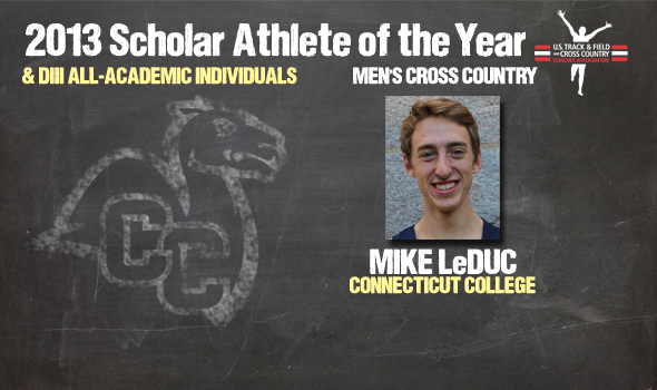 Division III Cross Country Men's Scholar Athlete of the Year and Individual All-Academic Awards Announced