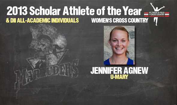 Division II Cross Country Women's Scholar Athlete of the Year and Individual All-Academic Awards Announced