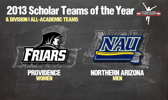 Providence Women & NAU Men Named Division I Scholar Teams of the Year