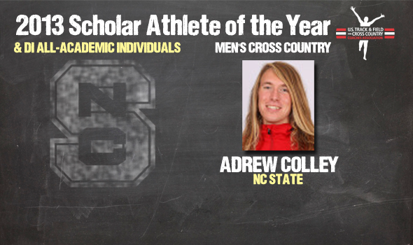 Division I Cross Country Men's Scholar Athlete of the Year and Individual All-Academic Awards Announced