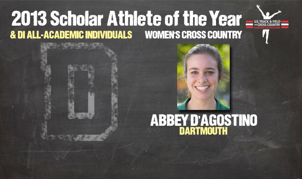 Division I Cross Country Women's Scholar Athlete of the Year and Individual All-Academic Awards Announced