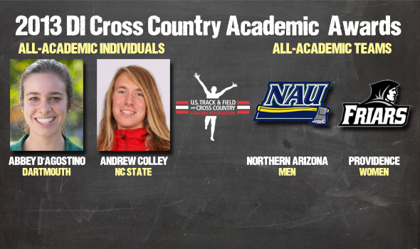 Academic Awards for 2013 Division I Cross Country Announced