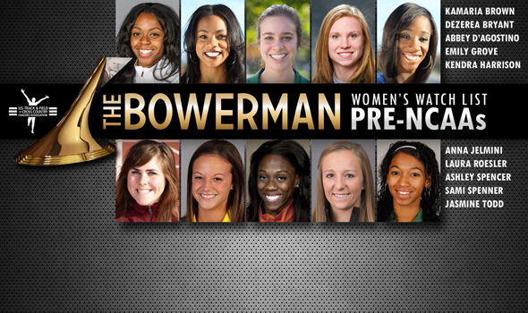 Four New Additions Join an Ever-Younger The Bowerman Women's Watch List