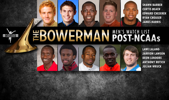Double-Champ Cheserek Headlines Five New Additions to The Bowerman Men's Watch List