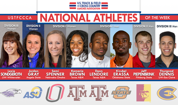 National Athletes of the Week Post Historic & All-Around Performances at League Meets