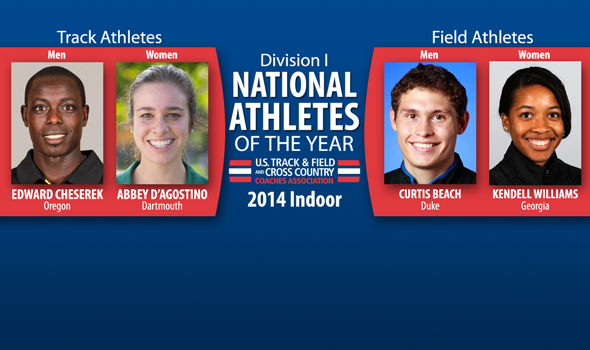 Distance Runners & Combined Events Dominate Indoor Division I National Athlete of the Year Awards