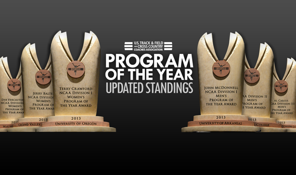 Updated USTFCCCA Program of the Year Standings