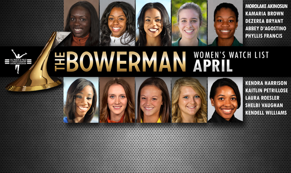The Race for the Women's The Bowerman Loaded With National Team Race Connections