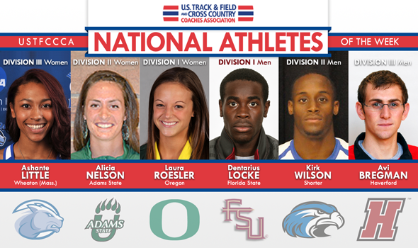 Locke & Roesler Headline National Athlete of the Week Selections