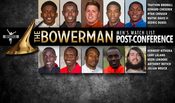 Historic Performances Permeate Post-Conference Championships Edition of The Bowerman Men's Watch List