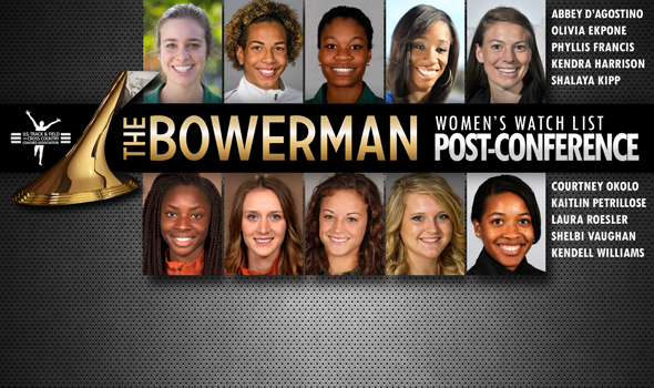 All-Time Great Conference Meets Boost Ekpone, Okolo & Petrillose Onto The Bowerman Women's Watch List