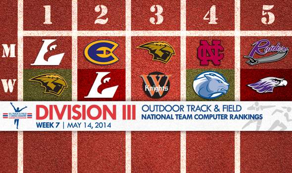 UW-Oshkosh Women Narrowly Reclaim Top Spot in DIII Outdoor T&F Rankings From UW-La Crosse