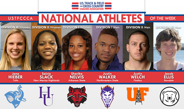 Small-School DI Sprinters Put Up Big-Time National Athlete of the Week Performances